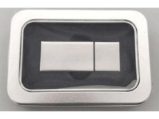 Small Tin Box with Wide Window