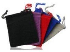 USB Velvet Puch Bag