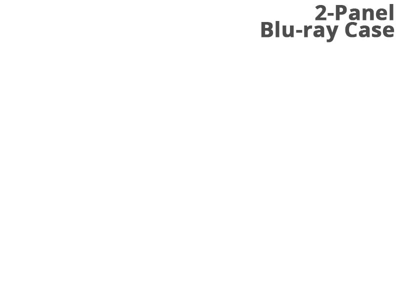 2-Panel Blu-ray Case