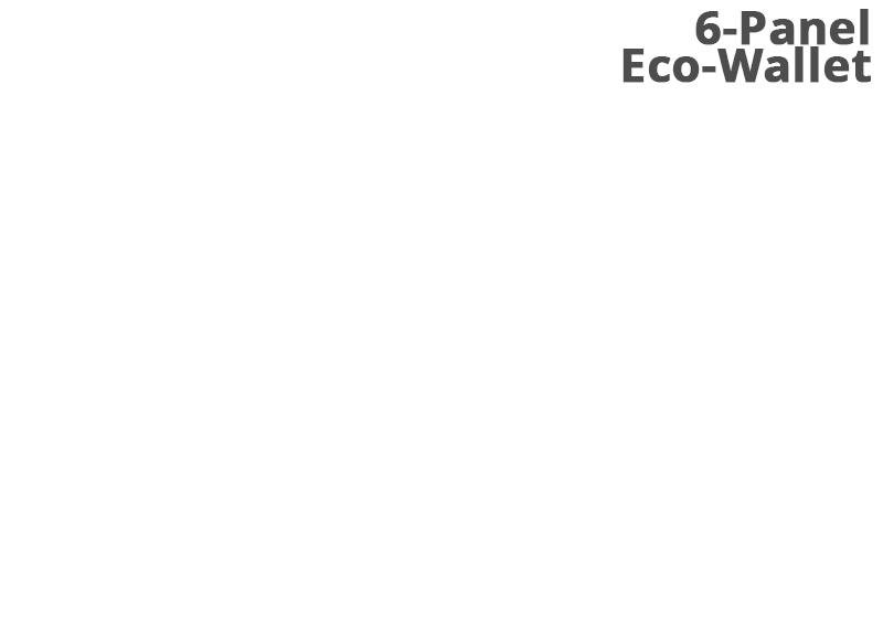 6-Panel Eco-wallet