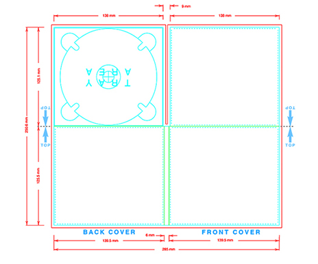 digipak templates