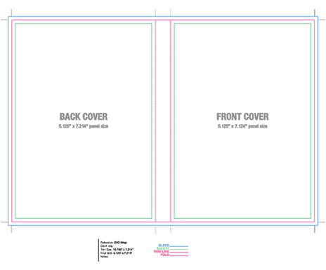 DVD Case Templates